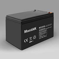 Mastak MT12120 12V 12Ah АКБ Герметичный свинцово-кислотный аккумулятор SLA
