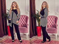 Костюм двойка туника и брюки Индивидуальный пошив