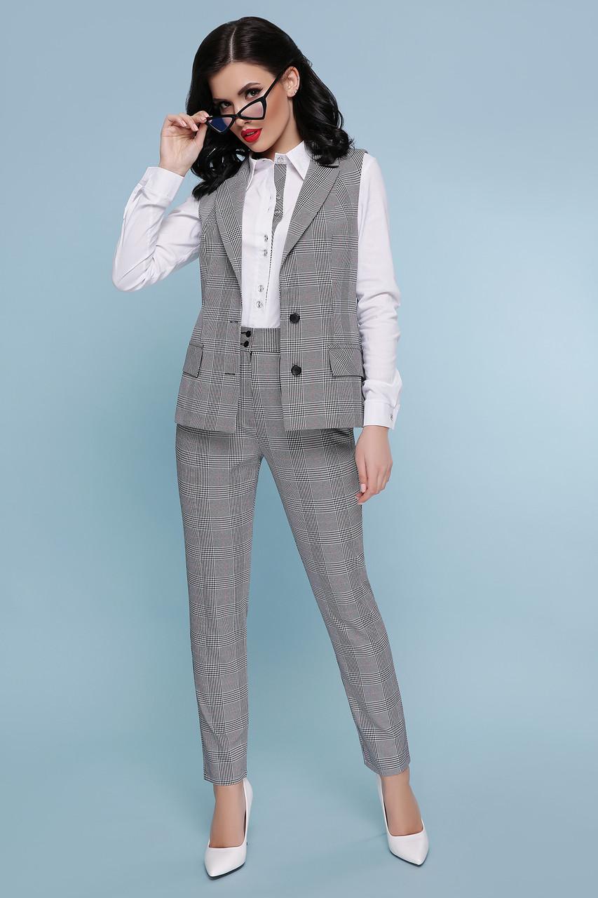 95d5ca047ac Деловой женский костюм двойка Жилет и брюки. - Модный магазин в Киевской  области