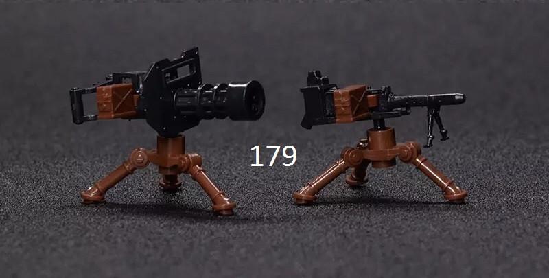 Набор из 2-х пушек swat спецназ военные армия лего lego BrickArms