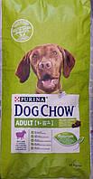 Корм Dog Chow Adult Lamb Дог Чау Едалт для дорослих собак з ягням 14кг