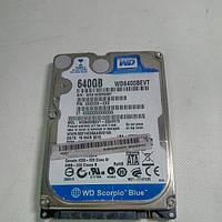 Нерабочий жесткий диск WD Scorpio Blue 640gb WD6400BEVT