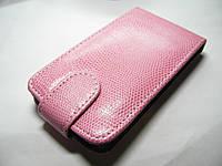 Чехол-книжка LG Optimus L5 E610 E612 E615 Pink