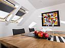 Штора FAKRO ARF на направляючих для мансардних вікон штори блекаут Факро АРФ шторы Fakro , фото 4