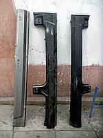 НЕоригинальный порог боковины Дана ЗАЗ-1105. Порог левый наружный. Порог правый. Венгерские пороги на Славуту , фото 1