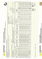Сертификат труба 25