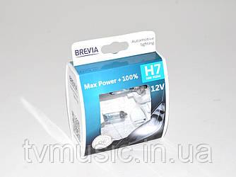 Комплект галогенных ламп Brevia H7 Max Power +100% (12070MPS)