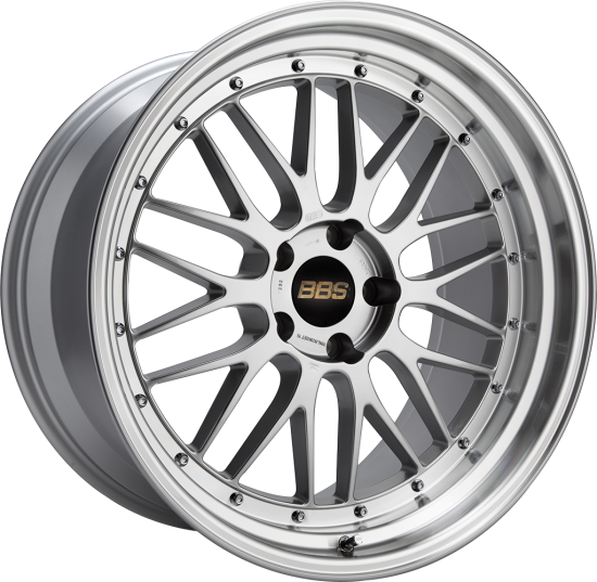 Диски BBS (ББС) модель LM цвет Brilliant silver