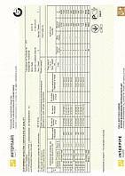 Сертификат труба 40