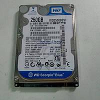 Нерабочий жесткий диск WD Scorpio Blue 250gb WD2500BEVT