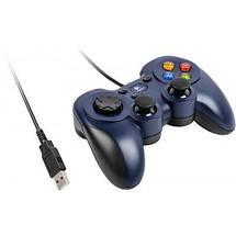 Джойстик для ПК Logitech F310 (940-000135) Blue, USB, провідний геймпад для комп'ютера/ноутбука, фото 3