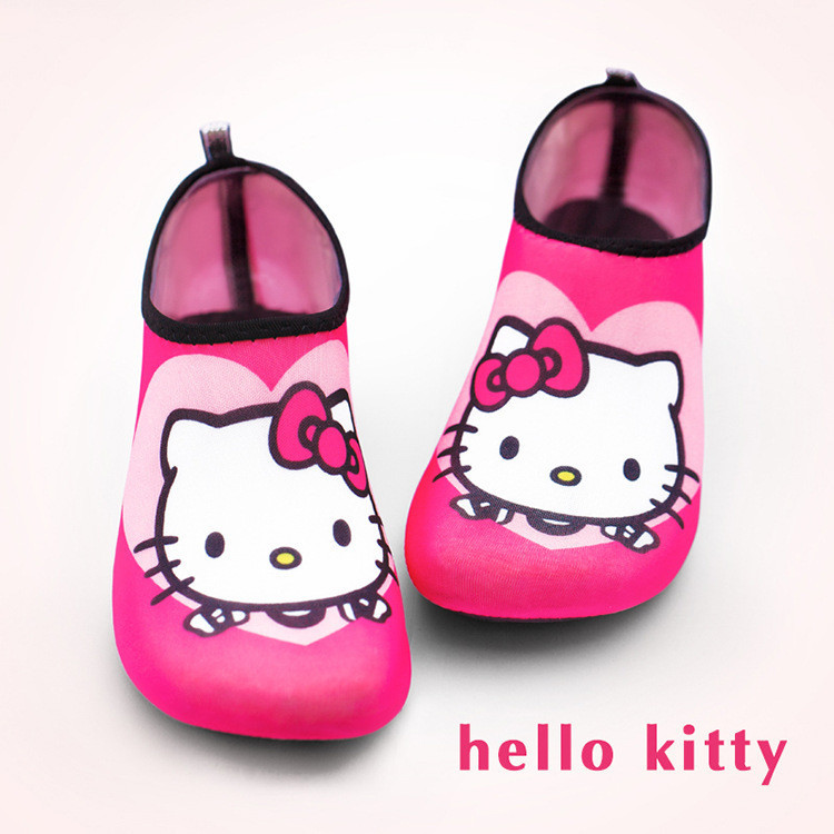 Детские тапочки Hello Kitty для плавания, обувь для спорта, отдыха