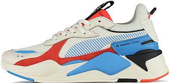 "Мужские кроссовки в стиле Puma Rs-x Reinvention Cream ""Red Blue"""