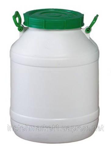 Бочка пищевая пластмассовая 50 л (горловина 215 мм)