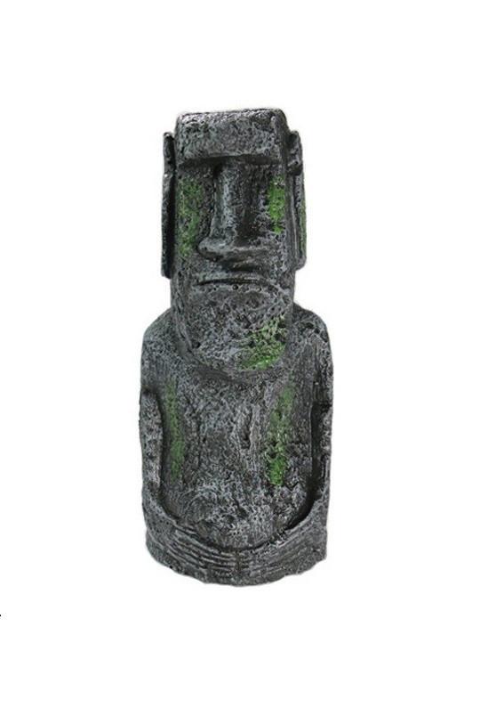 Декор для аквариума Статуя острова Пасхи большая 17,5 см