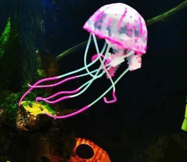 Декор для аквариума Медуза средняя 8 см