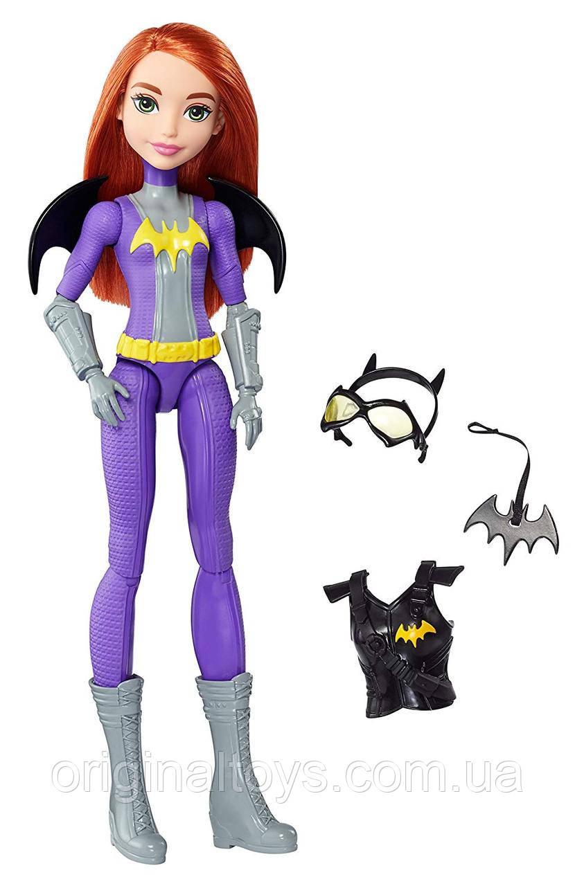 Лялька Бэтгерл Супергерої Таємна місія DC Super Hero Girls Batgirl DVG24