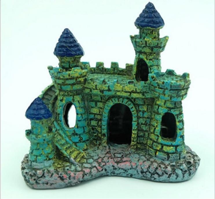 Декор для аквариума Замок маленький