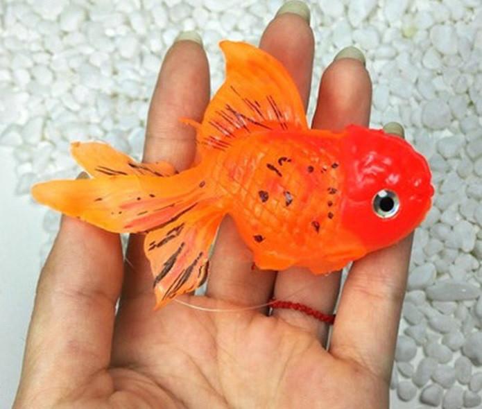 Декор для аквариума Золотая Рыбка оранжевая