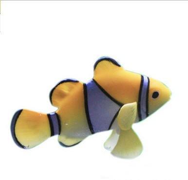 Декор для аквариума Рыбка Немо жёлтая
