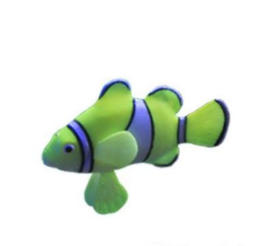 Декор для аквариума Рыбка Немо салатовая
