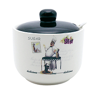 Сахарница с ложкой 520мл 'Гурман' 700-03-10