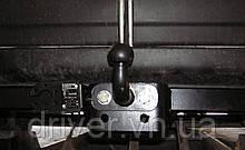 Фаркоп FORD TRANSIT (1 кол.) бампер з підніжкою 2014-. Тип F (знімний гак)