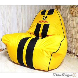 Кресло мешок Ферари , бескаркасное кресло груша , мягкий пуфик, бескаркасная мебель, мебель Лофт