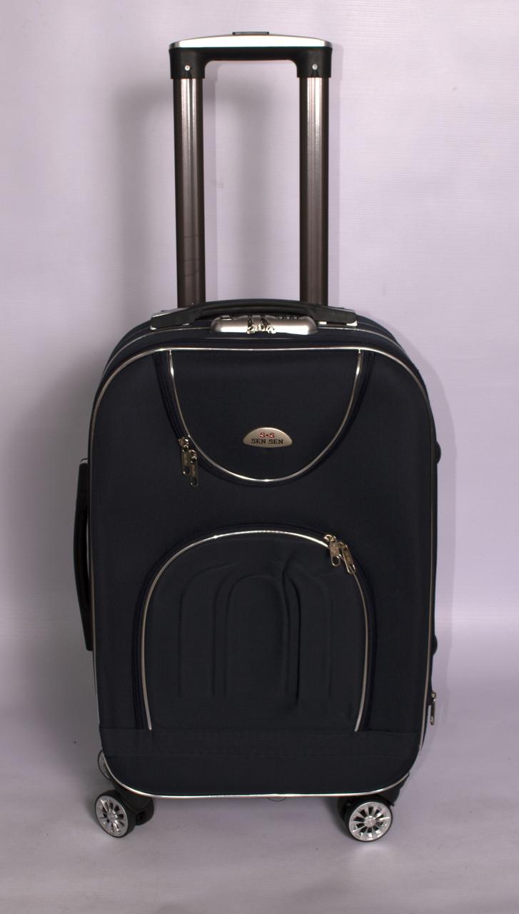 Тканевый дорожный чемодан SEN SEN на 4 - х колёсах ,средний