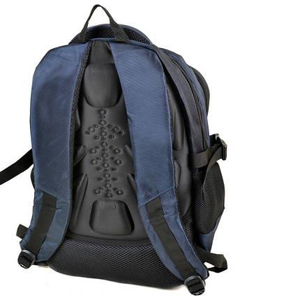 Рюкзак міський нейлон Power In Hand синій 20 - 30 л, фото 2