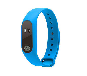 Фитнес браслет Smart Watch M2 Band Синий