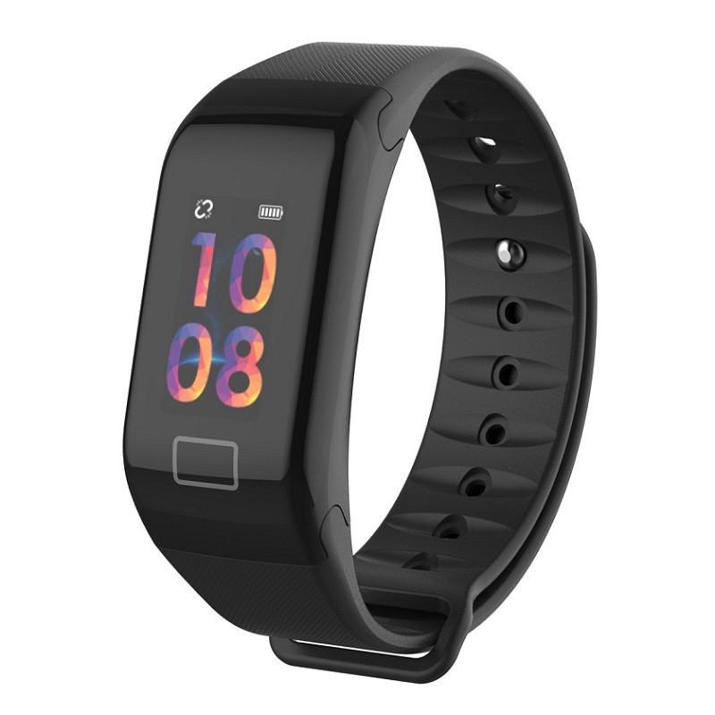 Фитнес браслет Smart Watch F1plus Черный