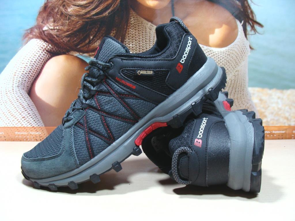 Мужские кроссовки BaaS Microweb серые 43 р.