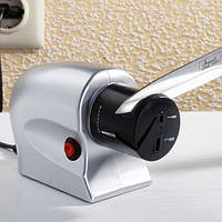 Точилка для ножей SHAPER, Точилка от электросети, Электроточилка для ножей и ножниц, Универсальная точилка