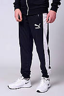 Мужские спортивные брюки, штаны Puma, трикотажные на манжетах! Весна!