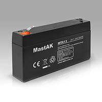 Mastak MT613 6V 1.3Ah АКБ Герметичный свинцово-кислотный аккумулятор SLA