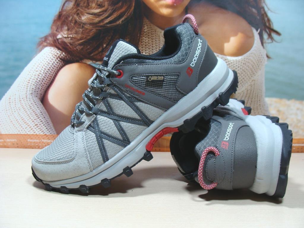 Мужские кроссовки BaaS Microweb светло-серые 42 р., фото 1