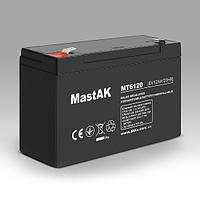 Mastak MT6120 6V 12Ah АКБ Герметичный свинцово-кислотный аккумулятор SLA