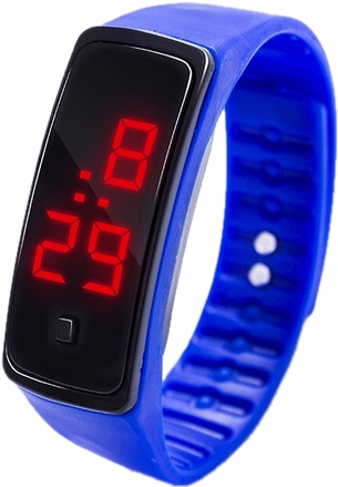 Светодиодные часы, Силиконовые led часы