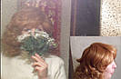 Кучерявый короткий русый женский парик из натуральных волос, фото 8