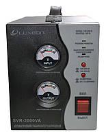 Стабилизатор напряжения Luxeon SVR-2000VA (1400Вт) чёрный