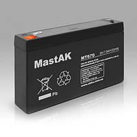 Mastak MT670 6V 7Ah АКБ Герметичный свинцово-кислотный аккумулятор SLA