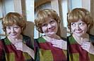 🧡  Женский кучерявый короткий парик из натуральных волос, русый 🧡, фото 10