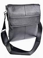 Мужская кожаная сумка  B-064 Black