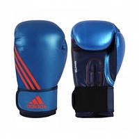 "Боксерские перчатки adidas ""Speed 200"". Цвет синий., фото 1"
