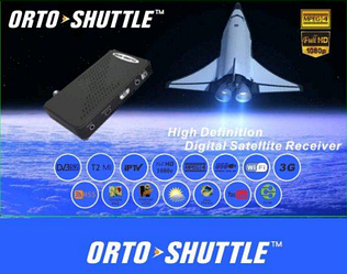 HD спутниковый тюнер ORTO SHUTTLE