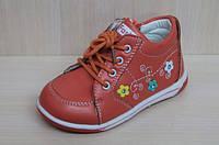 Демисезонные ботинки на девочку, детские закрытые туфли, ботиночки тм Tom.m р.21