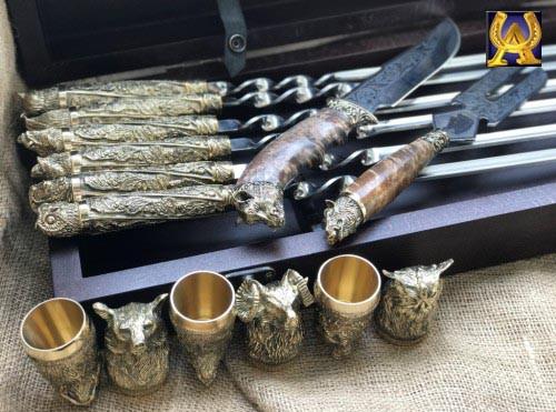 Шампура подарунковий набір