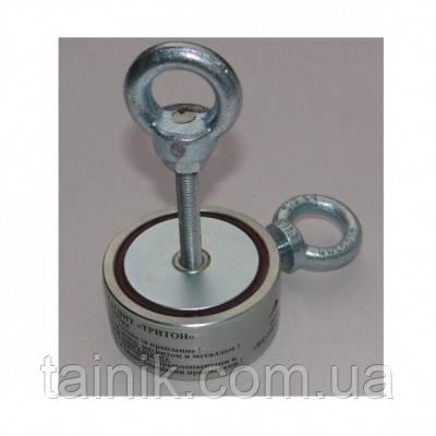 Поисковый двухсторонний магнит Тритон F2 х 200 кг
