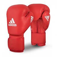 Боксерские перчатки AIBA красные